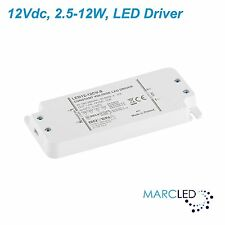 12W 12VDC LED Driver, Z-LED-12W-12CV-SLIM, small size, with mount ears