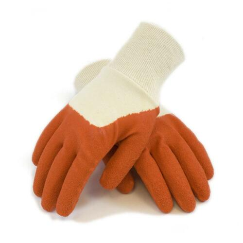 Mud Gloves Original Style Tangerine Gardening Gloves 020T Case of 6