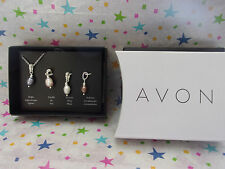 AVON GENUINE FRESHWATER PEARL NECKLACE SET GREAT FOR MOTHER'S DAY FREE SHIP