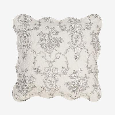 Clayre /& Eef Kissenhülle Kissenbezug gequiltet 50 x 50 cm