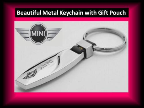MINI Metal NEW Stylish Key Ring for Him//Her//Husband//Wife//Friend with Gift Pouch