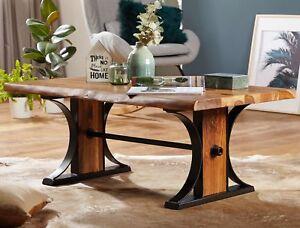 FineBuy Tavolino da caffè BANAR tavolo da salotto legno massello ...