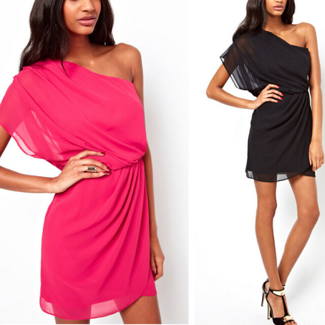2014 Womens Summer Sexy Chiffon Casual Party Evening Cocktail Short Mini Dress