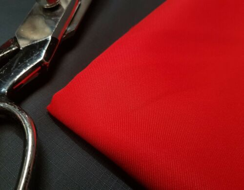 6//7oz* Microfibre Fabric Red 160cm wide 100/% Polyester
