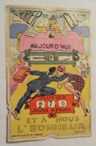 034-Mechanical-Card-Men-039-s-Women-Kiss-Calendar-034-1900-22233
