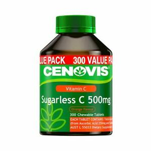 Cenovis-Sugarless-Vitamin-C-500mg-Orange-Flavour-300-Chewable-Tablets-Value-Pack