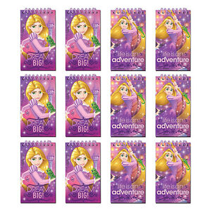 Tangled Rapunzel Party Supplies Favours 12 Notepad Favour