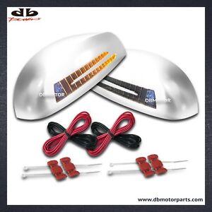 DBMOTOR-2007-2013-GMC-Sierra-Yukon-Mirror-Cover-with-LED-Indicator-Chrome