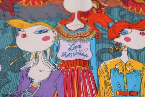 Fantasia Foulard 50x50cm Con Bambole Moschino zpnp4q0H