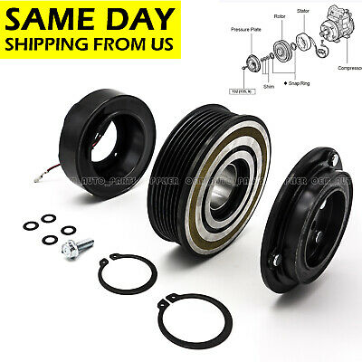 AC A//C COMPRESSOR CLUTCH KIT PULLEY COIL PLATE FITS: 2015 Tacoma 6 Cyl 4.0L