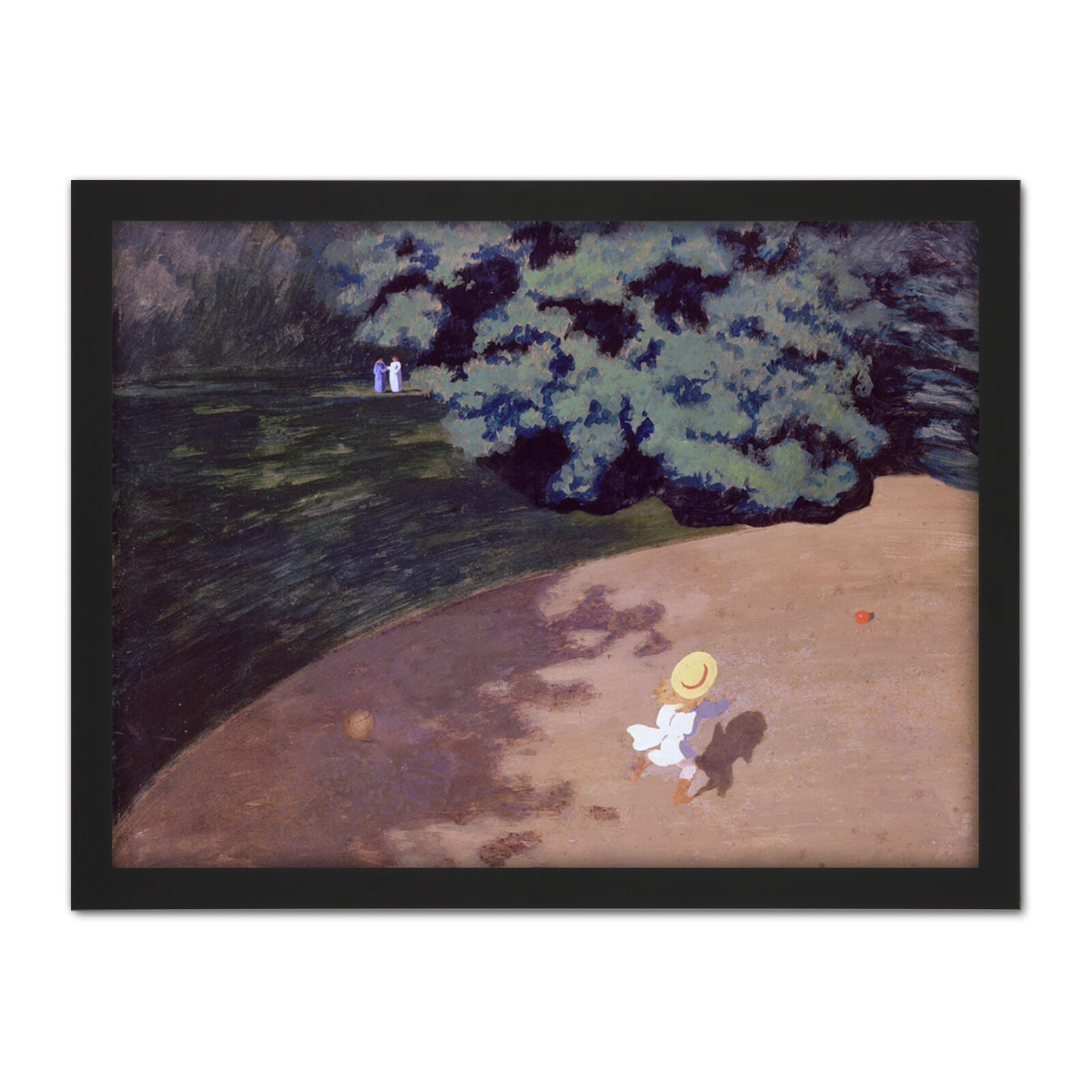 Felix Vallotton The Ball Large Framed Kunst Drucken