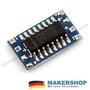 MAX3232-mini-seriell-TTL-Konverter-bidirektional-Modul-MAX232-RS232-Converter