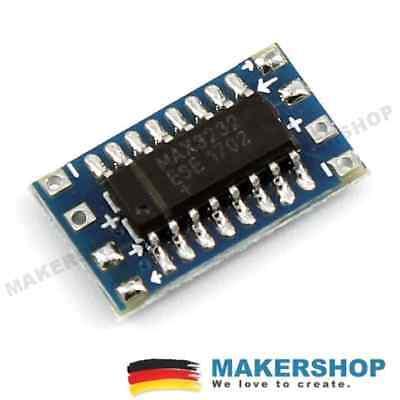 MAX3232 mini seriell TTL Konverter bidirektional Modul MAX232 RS232 Converter