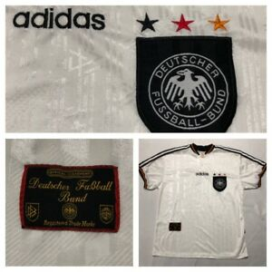Details about Adidas Soccer Jersey Deutscher Fussball bund Germany Mens Large Offical Garment