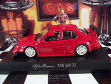 KYOSHO ALFA ROMEO 155 V6 Ti RED ALFA ROMEO COLLECTION 4 SCALE 1:64