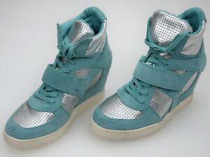Ash-DONNA-Sneaker-con-zeppa-interna-tempo-libero-casual-CODICE-COOL-BIS-84940