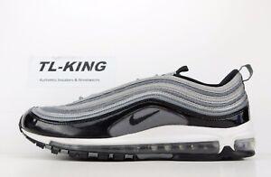 Nike Air Max 97 Cool Grey White Black Patent 921826 010 BW  eea28b256943