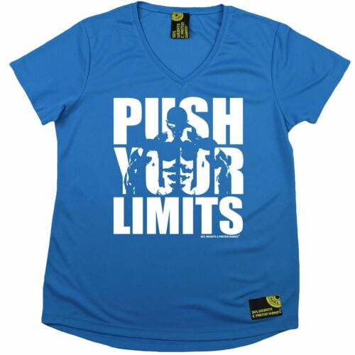 Push Your Limits Premium Dry Fit Breathable Sports V NECK T-SHIRT SWPS