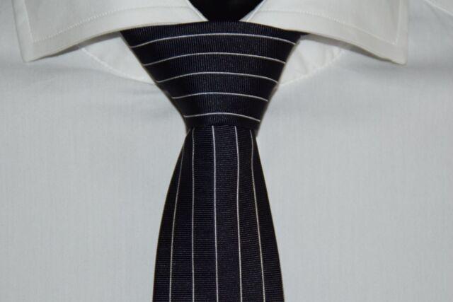 Made in Italy Dark Blue 100/% Seide HUGO BOSS KRAWATTE