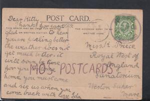 Family-History-Postcard-Preece-Sanatorium-Weston-Super-Mare-RF3399