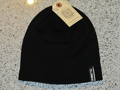 """Supply Billabong """"immortal"""" Beanie MÜtze Black Neu Up-To-Date Styling Hats Clothing, Shoes & Accessories"""