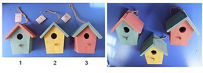 Bird Supplies Pet Supplies Casetta In Legno Naturale Cm 17x15x11 Casa Per Uccelli Giardino Kaemingk Decoris Good For Antipyretic And Throat Soother