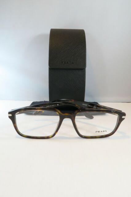 2484543ce80 Prada VPR 09T 2AU-1O1 Havana New Authentic Eyeglasses 55mm w Case
