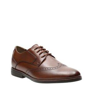 Bostonian Men's Yorkton Wing Oxford Tan Leather Dress Shoes 26125056