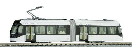 Kato 14-802-1 Toyama CENTRAM Tram 9001 LRT (Light Rail Transit) bianca (N scale)