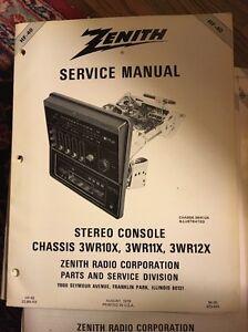 zenith service manual hf 40 1979 stereo 3wr10x r11x r12x rh ebay co uk 2005 honda aquatrax r12x service manual Service ManualsOnline