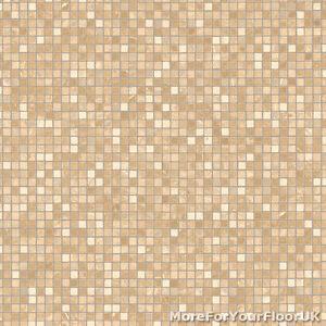 Cheap beige white vinyl flooring modern mosaic effect for Cheap white vinyl flooring