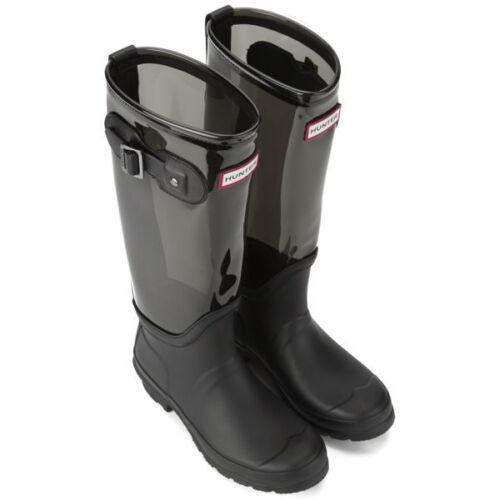 Unisex in a Tall 3 Stivali Clear Leg Black Wellies 7 Uk nylon Slate Hunter Originale HdgfAxxw