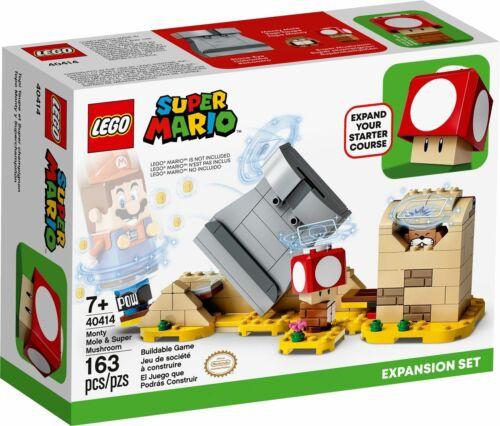 LEGO Super Mario Monty Mole /& Super Mushroom Expansion 40414