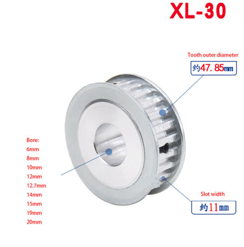 XL Timing Belt Pulley 10T-40T AF-type Synchronous Wheel for 11mm Timing Belt