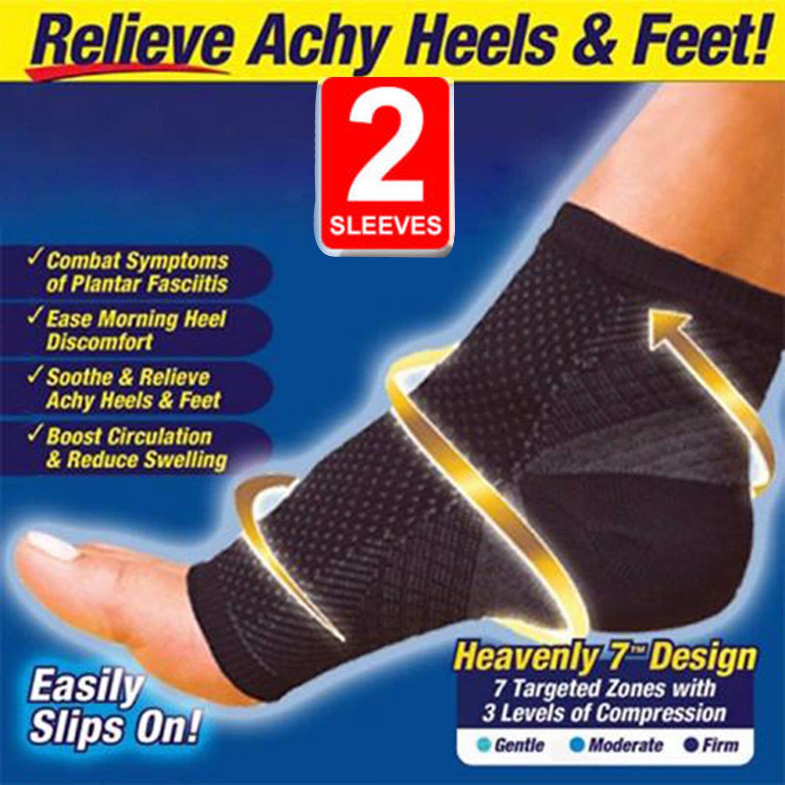 b5d967ccd2 Compression Socks Foot Sleeve Plantar Fasciitis Sore Achy Swelling ...