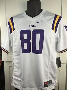 c4451aa4f LSU TIGERS FOOTBALL JERSEY- NIKE YOUTH ALL SIZES-NWT - RETAIL  55