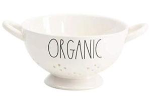 Rae-Dunn-Artisan-Collection-By-Magenta-ORGANIC-Ceramic-Colander-Strainer-NEW