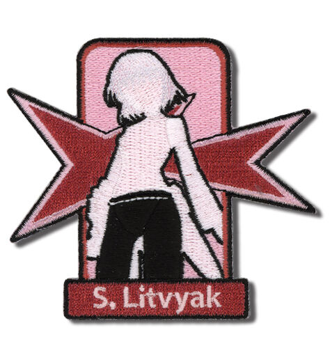 STRIKE WITCHES SANYA RUSSIAN PATCH iron on new sealed authentic licensed product