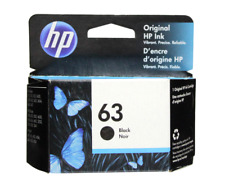 HP 63 Black Original Ink Cartridge - F6U62AN