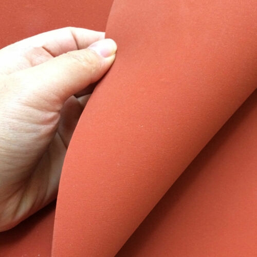 "New Heat Press Silicone Sponge Rubber Sheet Plate Pad 50x50cm 20x20/"" High Temp"