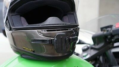 MotoRadds Motorcycle Helmet Chin Mount for GoPro Hero 6//5 Black,Session 4,Her...