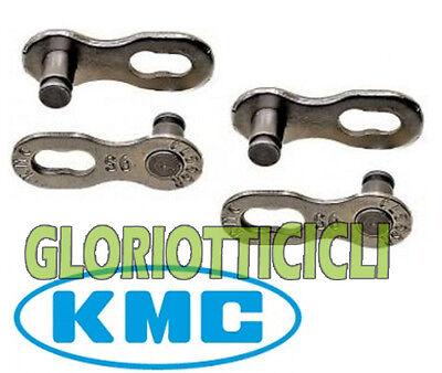 Kmc 2 Coppie Maglia Catena Missinglink Per 9 Velocita' Una Gamma Completa Di Specifiche