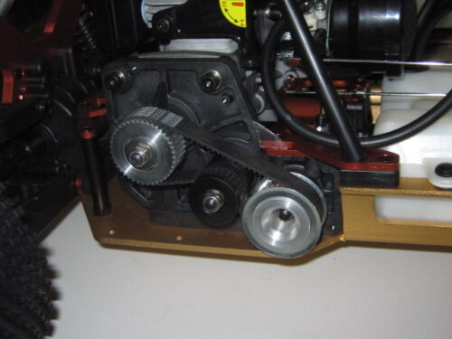 Belt Drive v5 1:1 Pour Carson Dirt Attack 1:5 Tuning HD Top Neuf