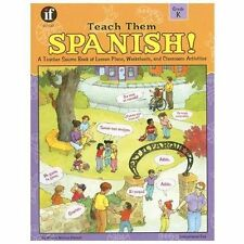 Teach Them Spanish! by Winnie Waltzer-Hackett (2001, Paperback)