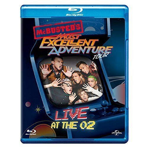 McBusted Most Excellent Adventure Tour – Live At The O2 [Blu-ray] [2015] [DVD]