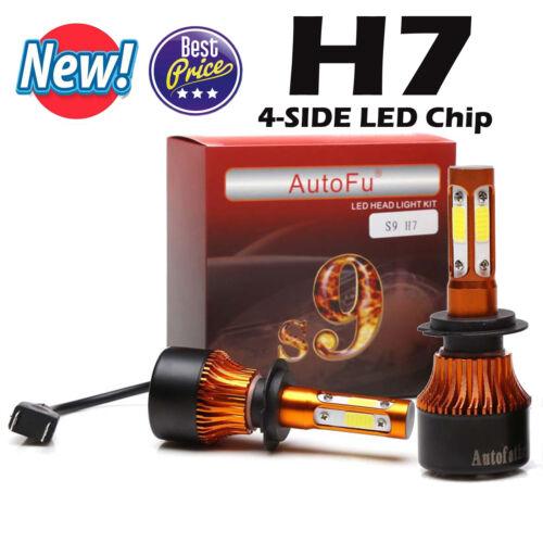 4-Side LED Headlight 980W Bulb Kit 9006 9005 H4//HB2//9003 H7 H8//H9//H11 Resistor