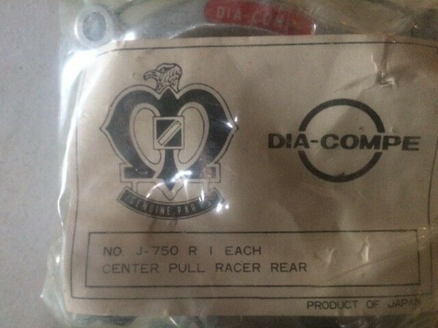 Dia-Compe J-750 R  NOS VINTAGE Center Pull Racer Rear from 1970s RARE NICE
