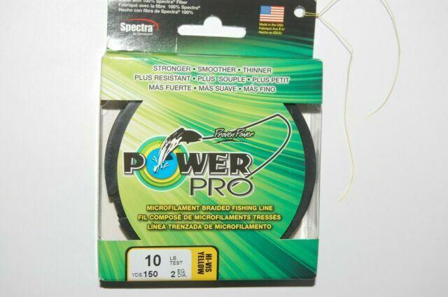 POWERPRO fishing braid 150 Yd 11 LB Red Power Pro