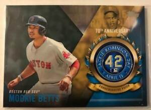 2017-Topps-Jackie-Robinson-Day-Logo-Patches-Medallions-Pick-From-List