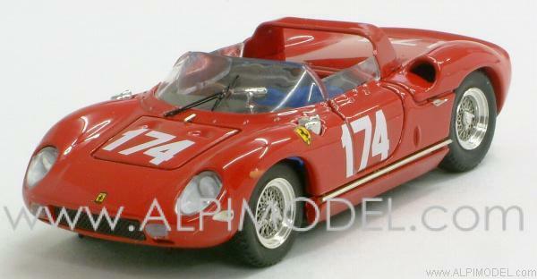 Ferrari 250P Targa Florio 1963 Surtees - Parkes 1 43 ART 129